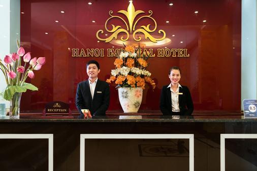 河内帝国酒店 - 河内 - 柜台