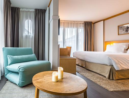 夏蒙尼精品酒店 - 夏蒙尼-勃朗峰 - 睡房