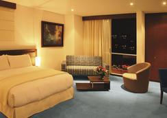 蓝色套房酒店 - 波哥大 - 睡房
