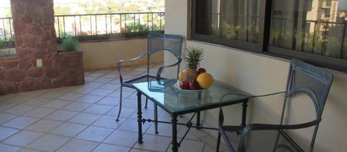 希尔高级套房酒店 - Asuncion - 阳台