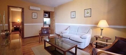 希尔高级套房酒店 - Asuncion - 客厅