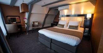 阿姆斯特丹大厦酒店 - 阿姆斯特丹 - 睡房