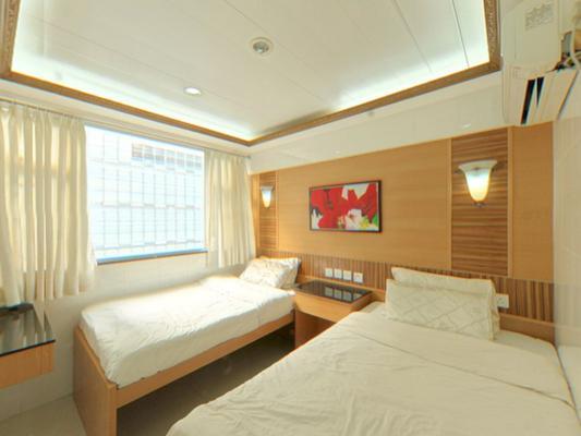 香港宇宙宾馆 - 香港 - 睡房
