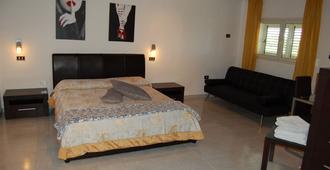 米尔托拉玫瑰酒店 - 锡拉库扎 - 睡房