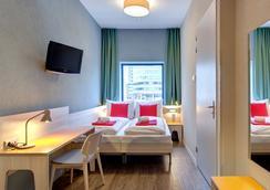 阿姆斯特丹市西部梅宁阁酒店 - 阿姆斯特丹 - 睡房