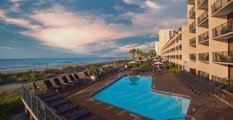 康帕斯湾酒店 - 默特尔比奇 - 游泳池