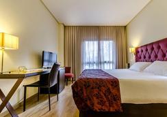 埃克瓜达莱特酒店 - 赫雷斯-德拉弗龙特拉 - 睡房