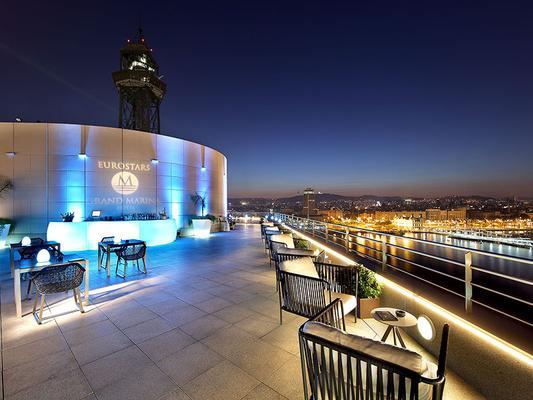 欧洲之星玛莲娜大酒店 - 巴塞罗那 - 酒吧