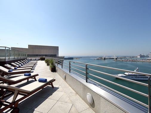 欧洲之星玛莲娜大酒店 - 巴塞罗那 - 阳台