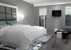 西迪马鲁夫欧洲之星酒店 - 卡萨布兰卡 - 睡房