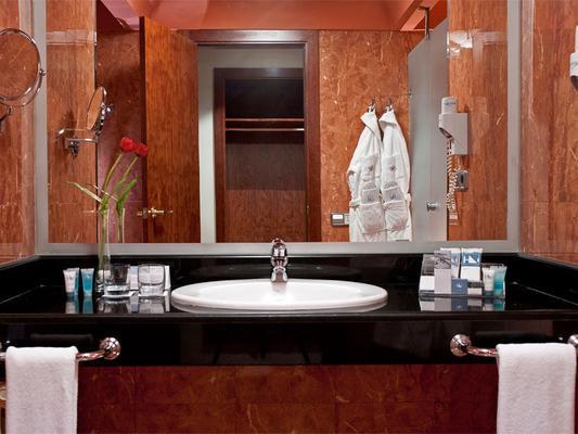 拉斯克拉拉斯欧洲之星酒店 - 萨拉曼卡 - 浴室