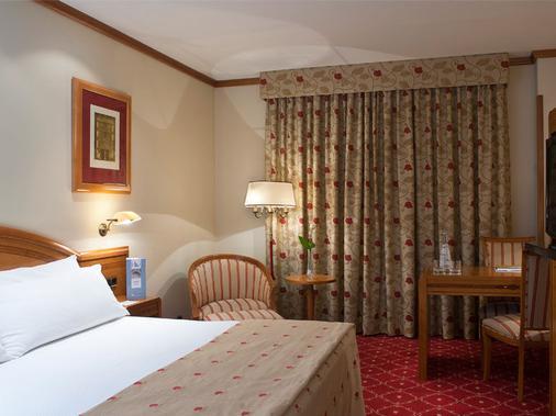 梅里亚拉斯克拉拉斯精品酒店 - 萨拉曼卡 - 睡房