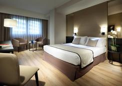 埃克雷伊唐海梅酒店 - 巴伦西亚 - 睡房