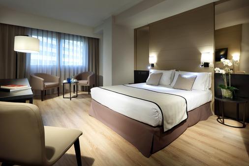 欧洲之星雷伊唐海梅酒店 - 巴伦西亚 - 睡房