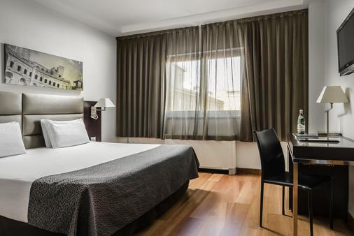 欧洲之星罗马亚特尔纳酒店 - 罗马 - 睡房
