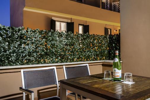 欧洲之星罗马亚特尔纳酒店 - 罗马 - 阳台