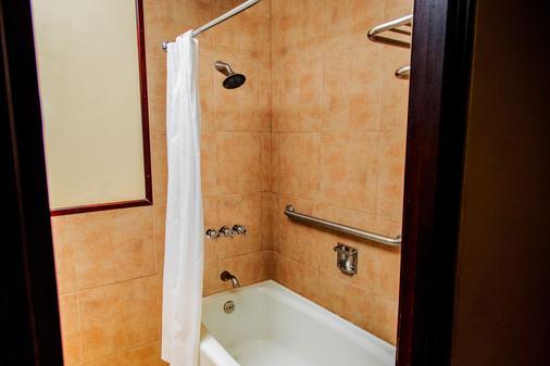 波塔湖酒店 - Panajachel - 浴室