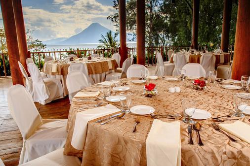 波塔湖酒店 - Panajachel - 宴会厅