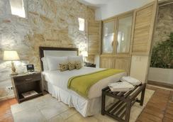 卡萨卡纳巴尔精品酒店 - Cartagena - 睡房