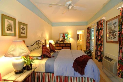 苍鹭楼苑酒店 - 只限成人 - 基韦斯特 - 睡房