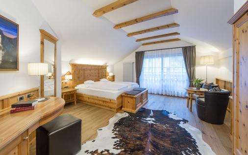 安杰洛恩格尔酒店 - 奥蒂塞伊 - 睡房