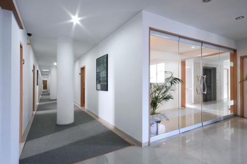 生态商务酒店 - 艾哈迈达巴德 - 门厅