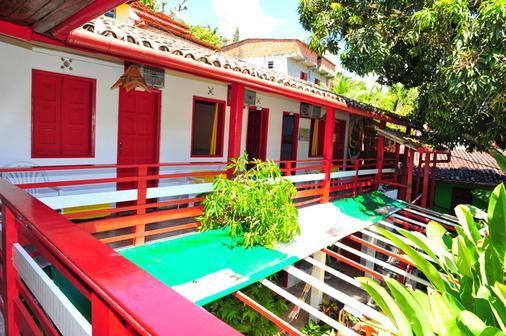 埃斯柯雷古拉盖旅馆 - 莫罗圣保罗 - 阳台