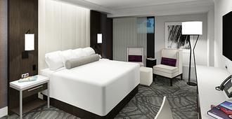 丽诺金沙丽晶赌场酒店 - 里诺 - 睡房