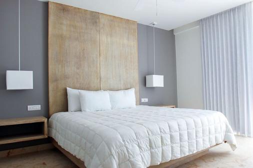 亚拿套房公寓 - 卡曼海灘 - 睡房