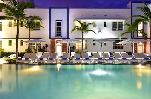 迈阿密佩斯塔纳南海滩艺术装饰酒店 - 迈阿密海滩 - 建筑