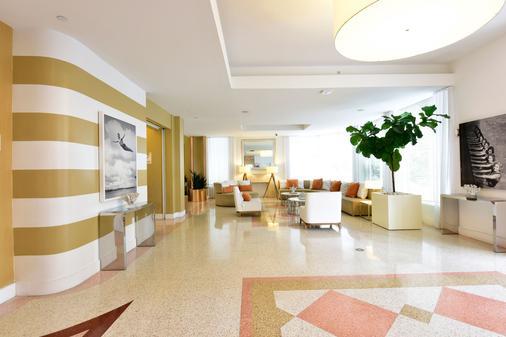 佩斯塔纳南滩酒店 - 迈阿密海滩 - 大厅