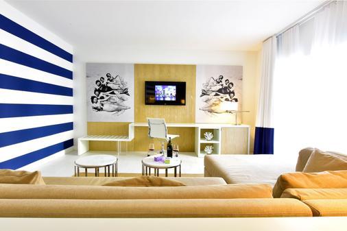 佩斯塔纳南滩酒店 - 迈阿密海滩 - 客厅