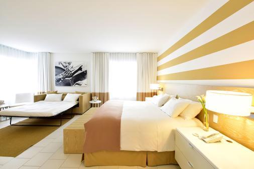 迈阿密佩斯塔纳南海滩艺术装饰酒店 - 迈阿密海滩 - 睡房