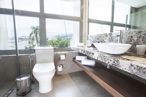 桑托斯杜蒙奇才酒店 - 里约热内卢 - 浴室