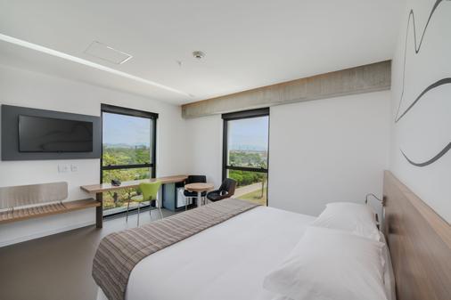 加利昂linx国际机场酒店 - 里约热内卢 - 睡房