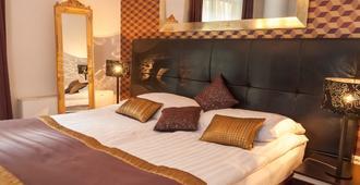 布利斯健康酒店 - 布达佩斯 - 睡房