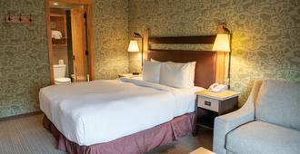 福克斯套房酒店 - 班夫 - 睡房