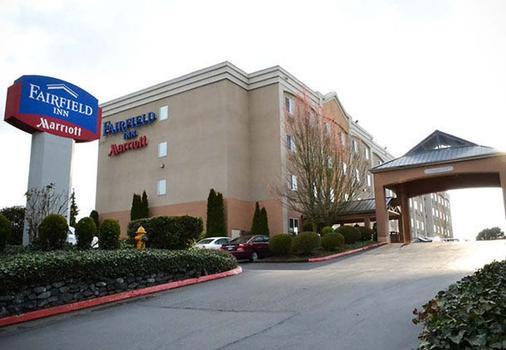 西塔机场万豪费尔菲尔德酒店 - 西雅图 - 建筑