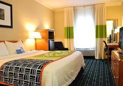 西塔机场万豪费尔菲尔德酒店 - 西雅图 - 睡房