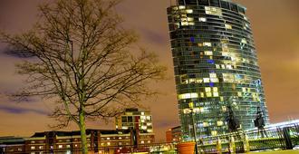 伦敦西印度码头万豪酒店 - 伦敦 - 建筑