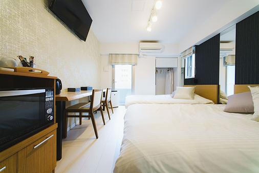 日本桥阿克萨斯公寓式酒店 - 东京 - 睡房
