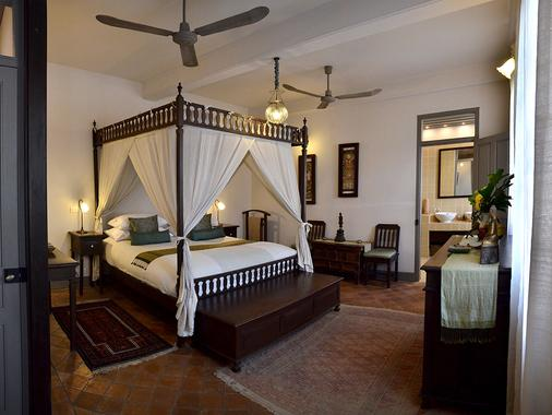 萨特里豪斯秘密度假酒店 - 琅勃拉邦 - 睡房