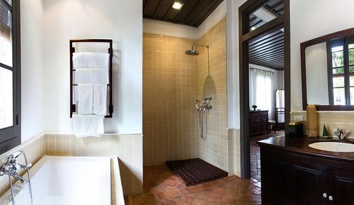 萨特里豪斯秘密度假酒店 - 琅勃拉邦 - 浴室