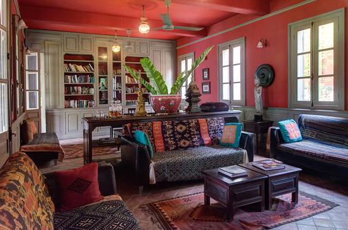 萨特里豪斯秘密度假酒店 - 琅勃拉邦 - 客厅