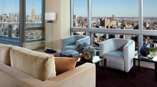 特朗普休南酒店 - 纽约 - 客厅