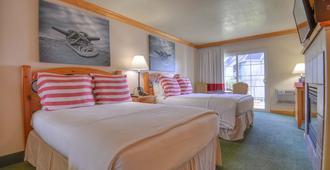 太浩湖海滩度假酒店及旅馆 - 南太浩湖 - 睡房