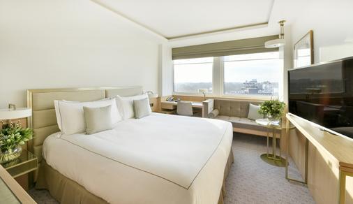 兰开斯特伦敦酒店 - 伦敦 - 睡房
