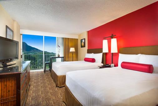威基基海滩阿斯顿酒店 - 檀香山 - 睡房