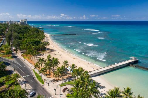 威基基海滩阿斯顿酒店 - 檀香山 - 海滩