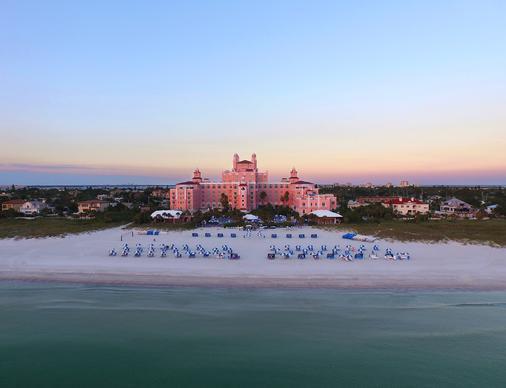 唐塞萨尔酒店 - 圣彼得海滩 - 海滩